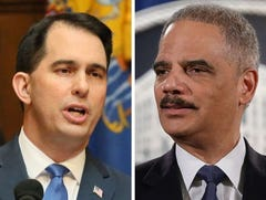 At campaign stop with Eric Holder, Tony Evers promises to tour teen prison Scott Walker won't visit