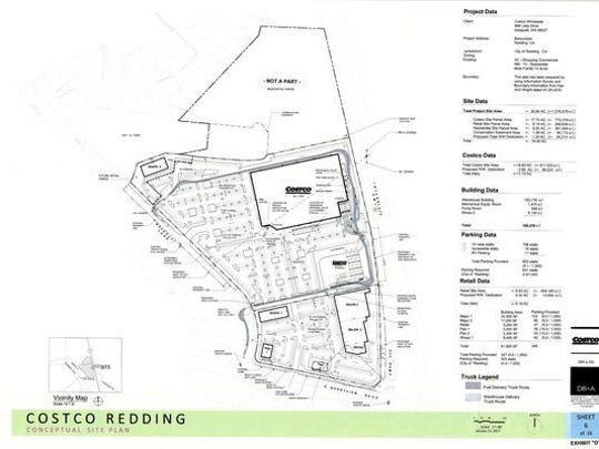 Costco site plan