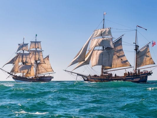 Tall ships featured in 'Pirates of the Caribbean,' 'Star Trek' to dock in Newport in April and July!