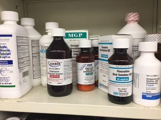 Stock image pharmacies