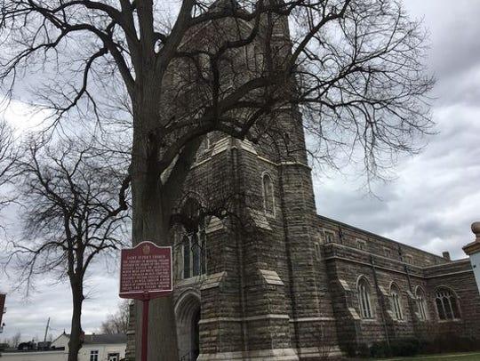 St. Peter's Episcopal Church in Morristown, a recipient