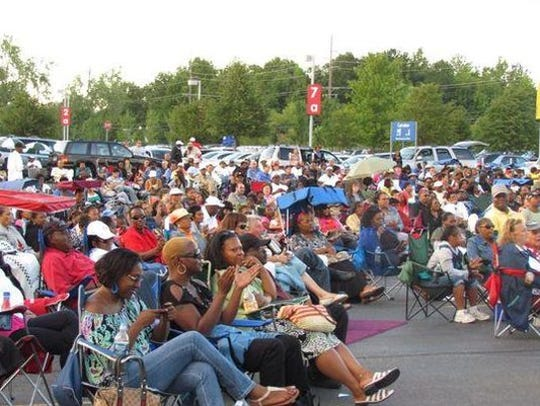 The jazz series drew large crowds in Canton.