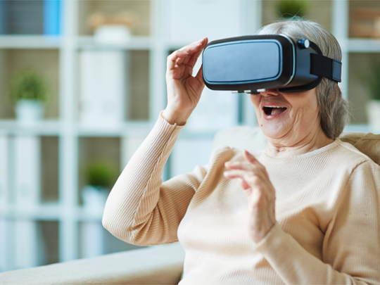 Smartphone-based VR programs are changing all that.