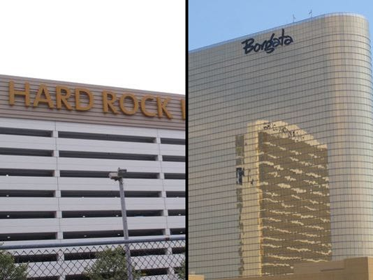 Hard Rock Casino and Borgata in Atlantic City