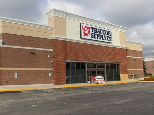 Tractor Supply Co. is expected to open in Canton by the end of the first quarter of 2019.