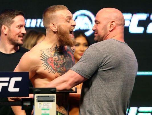 UFC's Dana White visits Memphis