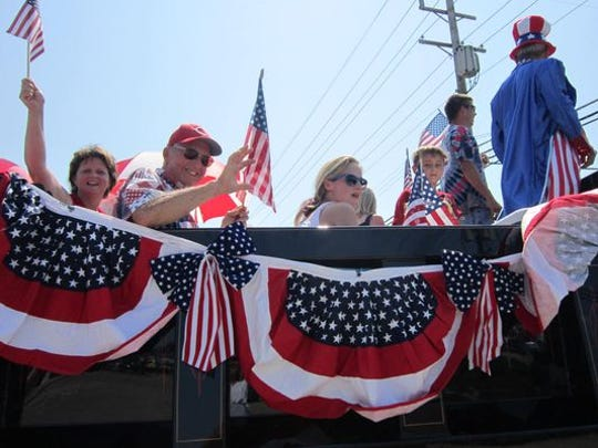 Anderson Township's annual Independence Day parade