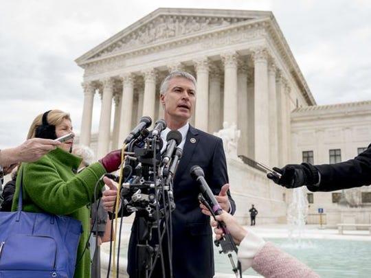 South Dakota Attorney General Marty Jackley speaks