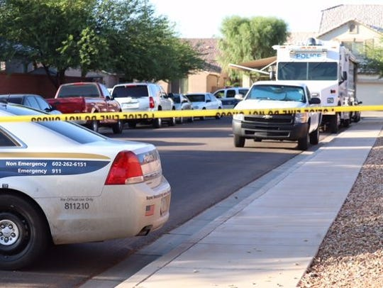 Two are left dead after a double shooting in Phoenix
