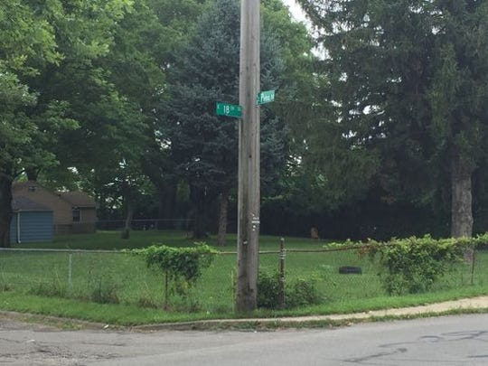 Authorities found the body of overdose victim Dustin Richard Rhodes, 29, of rural Muncie, along South Penn Street, just north of 18th Street, on July 22, 2017.