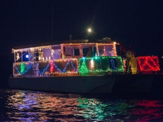 Lighted Boat Parade.