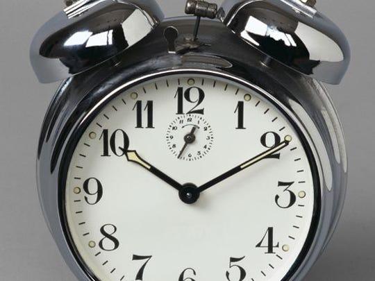 Daylight Saving Time ends at 2 a.m. Sunday.
