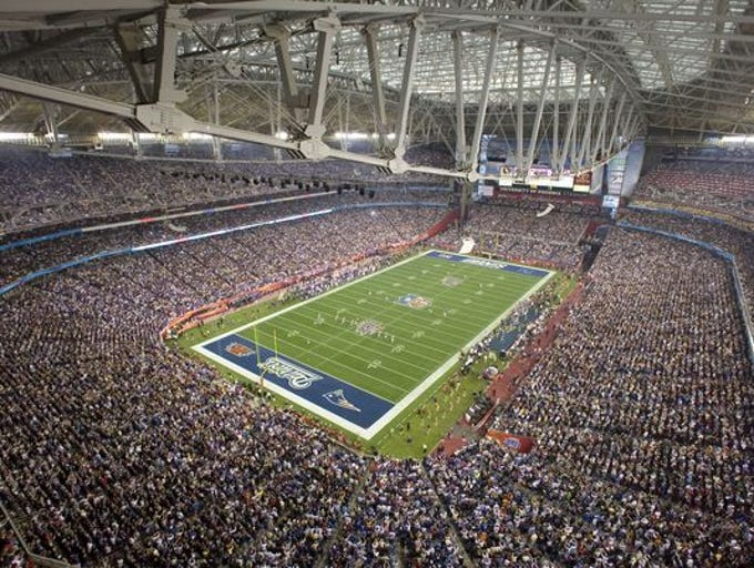 The NFL requires Super Bowl host cities to provide