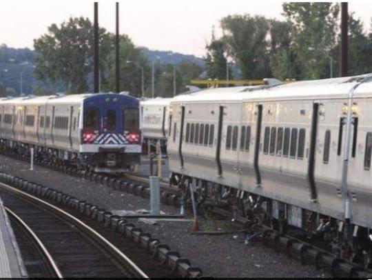 File photo of Metro-North cars