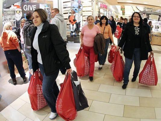 Black Thursday shopping