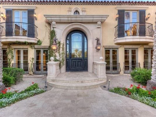 Luxury Homes: $2.75M Chandler Home Features 12x12 Sitting Room In Master  Suite