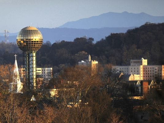 Attractive Knoxville Skyline