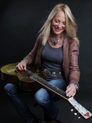 Cindy Cashdollar, pictured here, will perform with Rory Block on Feb. 4 at the Towne Crier Café in Beacon.