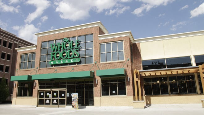 The Whole Foods Market on Mack Avenue is seen here in May 2013, weeks before it opened.
