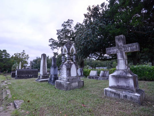 The Old City Cemetery marks the end point of the ghost