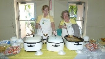"""GFWC Treasure Coast Women welcome the public to its 16th annual """"Savor the Flavor"""" soup and salad card party fundraiser from 11 a.m. to 3 p.m. Feb. 23 at the Vero Beach Community Center, 2266 14th Ave., downtown Vero Beach. Lunch will be served from 11 a.m. to 2:30 p.m., and cards will be played from 11 a.m. to 3 p.m.There will be prizes, baskets and a 50/50 drawing. Tickets are $9 in advance by contacting Suzanne Erianne at 772-766-4043 or suz2748@aol.com.All proceeds will support the Treasure Coast Women's local charities. Some of the charities it supports include Our Father's Table Soup Kitchen, Veterans of Indian River County, Literacy Services of Indian River County, Childcare Resources, Fourth Street Family Center, Harvest Food Bank, and Humane Society of Vero Beach and Indian River County."""
