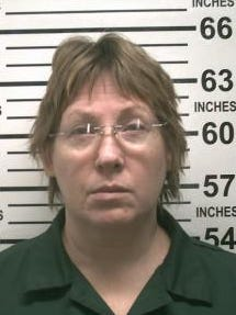 Evonne Williams, 49, is pictured here ina mug shot on Oct. 7, 2015. She hanged herself Friday, Oct. 16, 2015, in the the Bedford Hills Correctional Facility, according to the Westchester County Medical Examiner. She died of asphyxia at Northern Westchester Hospital.