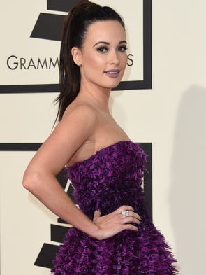 Kacey Musgraves stuns in Armani Prive on the Grammys