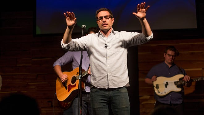 Trevor Atwood, pastor of City Church in Murfreesboro, is preaching directly to the issue of racial violence in America.
