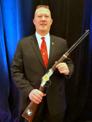 Bradford County Sheriff C.J. Walters was recently presented a commemorative rifle by Henry Repeating Arms to honor his support of the Second Amendment.
