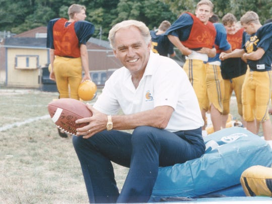 Jim Belden won four state championships as a high school football coach in Hamilton County.