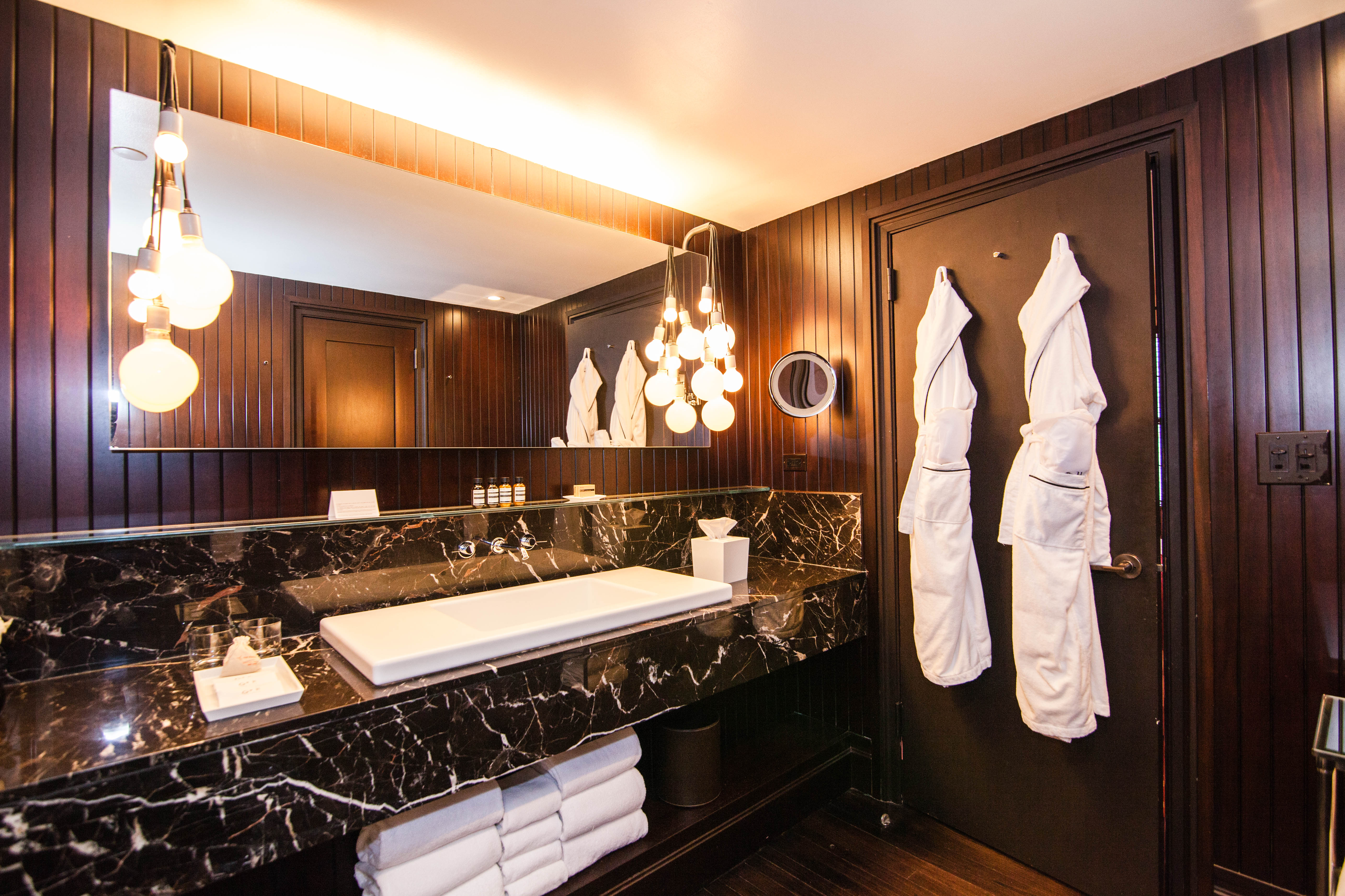 Americas most luxurious hotel bathrooms