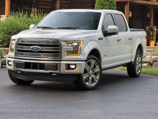 ford creates new top end f 150 limited pickup. Black Bedroom Furniture Sets. Home Design Ideas