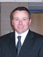 Jeffrey R. Rabey, superintendent of the Depew school