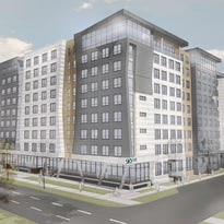 The Lansing City Council approved Monday night plans for a $77 million mixed used development project along East Michigan Avenue called SkyVue. Plans call for 359 apartments with two retail spaces on the first floor. The Georgia-based developers and Lansing officials want to see the nine-story project break ground in November. It could be completed by July 2017.