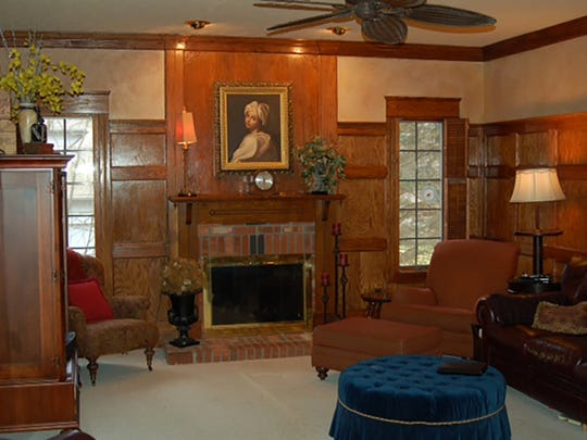 The Randalls' previous home was traditional.