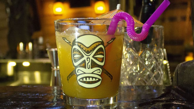 At Barter & Shake's new concept, look for an immersive theme like UnderTow and its tiki-themed cocktails.