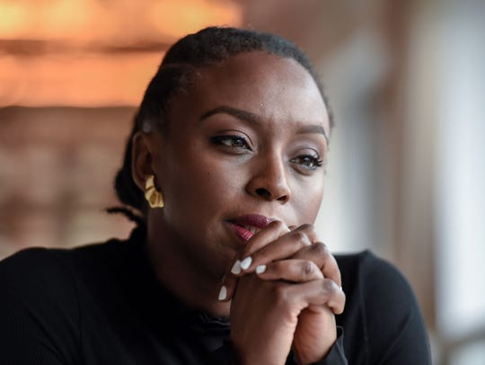 Nigerian author Chimamanda Ngozi Adichie.