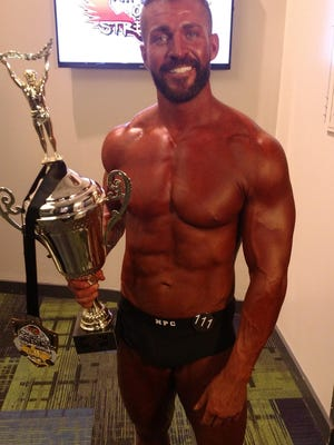 Amateur bodybuilder Gage Marks of Guyton won the NPC Classic Physique Class C and overall titles on Saturday night at the inaugural Lenda Murray Savannah Pro-Am at the Savannah Convention Center.