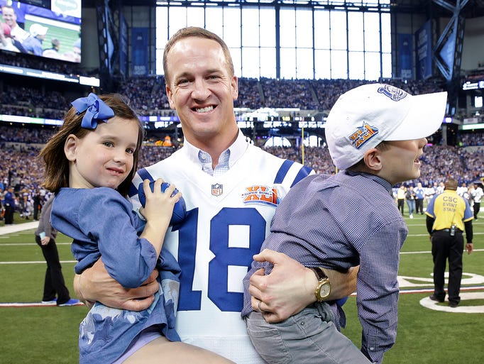 peyton manning family