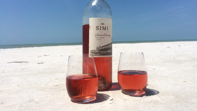 If mom is more of the feminine girly-type, try  Simi Sonoma County Dry Rose.