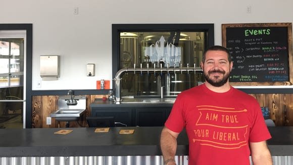 Upstate Brewing founder Mark Neumann inside the renovated