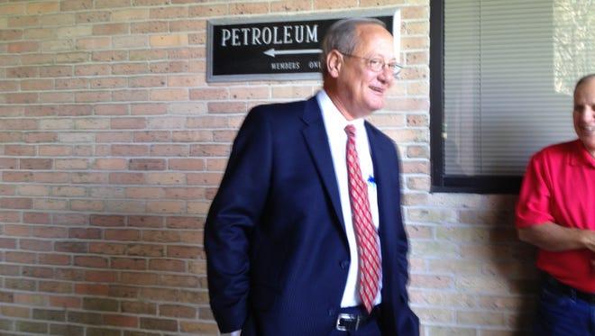 District Attorney Mike Harson