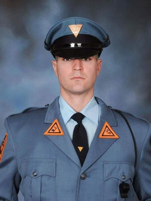 New Jersey State Police Trooper Eli McCarson of Gloucester County died in an on-duty accident Thursday.
