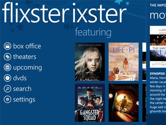 Windows Store app highlight: Free Movies, a free movie