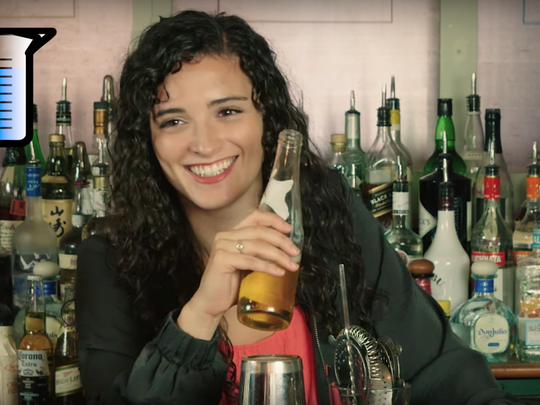 "Byram N.J. native and Ph.D candidate Shannon Odell appears in her viral video ""A Drunk Neuroscientist Explains What Alcohol Does to Your Brain."""