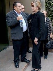 La viuda del actor Carlos Cámara, la señora Norma