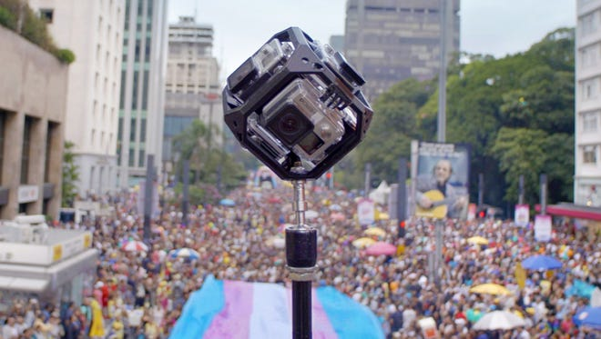 Google has made a virtual reality experience so people can know what it's like to attend a Pride parade.