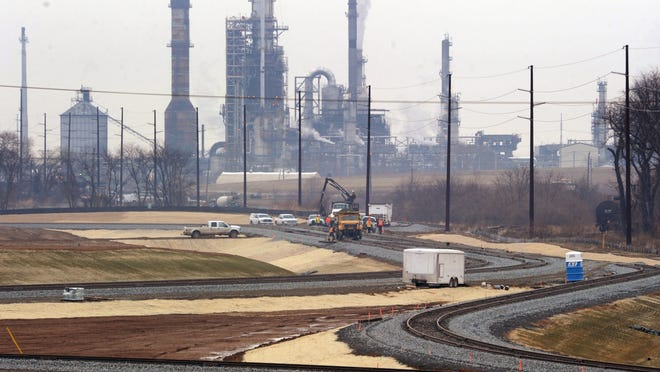 PBF Energy is considering a smaller addition and exploring prospects for a natural gas liquid export venture in Delaware, officials said Thursday.