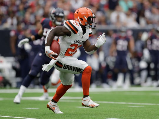 Cleveland Browns free safety Jabrill Peppers.