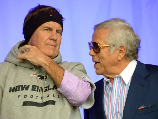 Robert Kraft to Giants fans: Stop dreaming about Belichick reunion